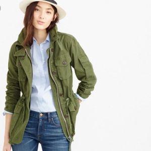 J. Crew green field mechanic jacket XS $198 NEW